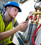 Plumbing and gas works to gas safe regulations